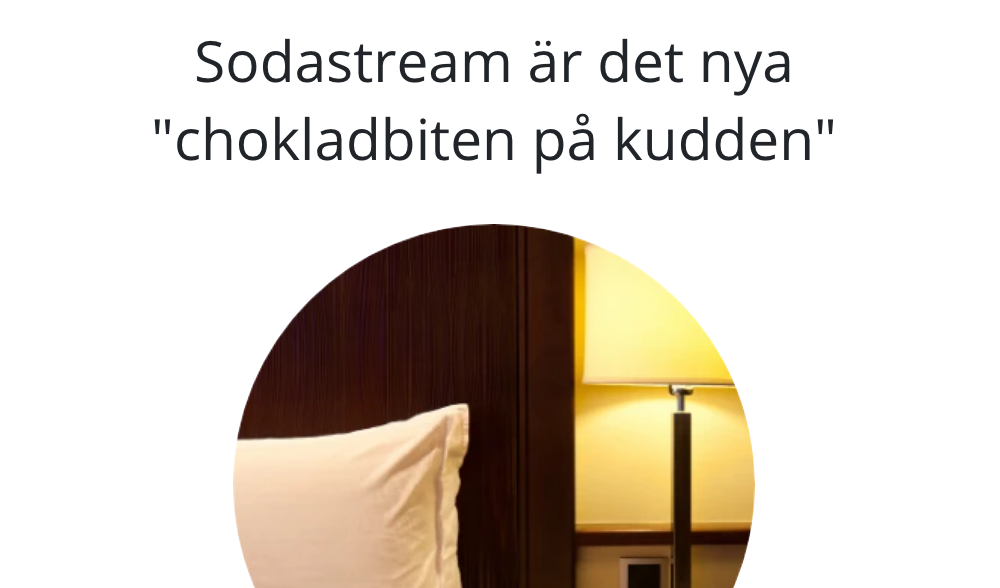 SodaStream means business